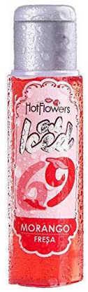 Imagem de Gel Comestível Morango Iced 69 Hot Flowers 35 ml