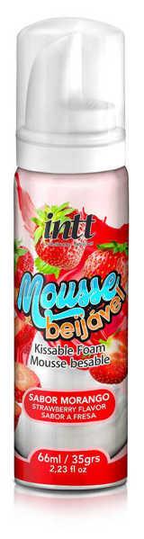 Imagem de Mousse Beijável Morango 66ml INTT