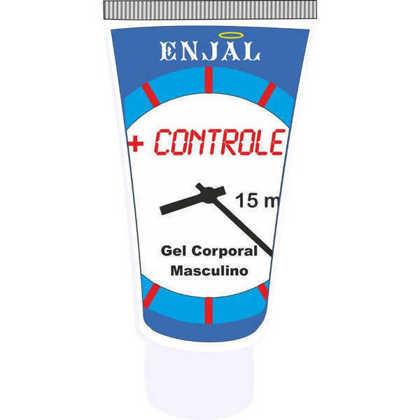Imagem de + Controle - Gel Masculino - Retardador da Ejaculação - 15 ml - Enjal